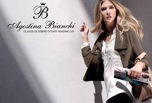 Colecion invierno 015 Tejidos de diseño Agostina Bianchi / Tejidos de Diseño de Onda Slow de Lujo Simple, prendas invernales para usar a toda hora y estar siempre Femenina y Chic!
