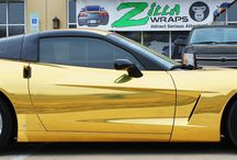 Metallic, Specialty and Chrome Wraps / Metallic, Color Shift, and Chrome Vinyl Vehicle Wraps created by Zilla Wraps