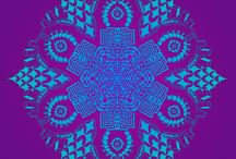 TAPT Designs / TAPT's hand drawn Geometric Psychedelic Oplical Artwork.