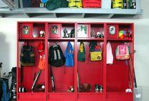Sport equipment organization