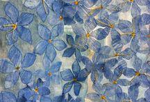 textil - květiny