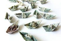 Dollar Bill Foldin' / by Diane Cappuccio