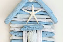 ♥driftwood-legnetti♥seashell and beach
