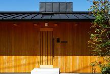 建築:傾斜地の家