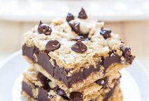 Chocolate chip cookiebar