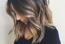Účes dlhé vlasy