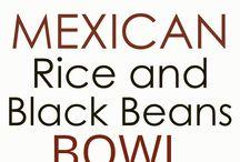 Mexicanen rice