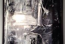 Peinture abstraite 2 / Peinture glycero sur toile