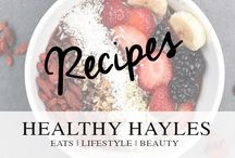 Healthy Hayles Recipes / Healthy Hayles Recipes