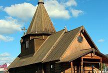 Wooden Church en Church of RUSSIA