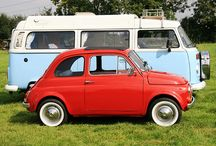Vintage Fiat 500 and VW Kombies!!