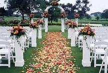 Matrimonio / Ideas para matrimonio al aire libre y de día