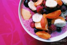 BREAKFAST IDEAS / Home made smoothies and breakfast in style.