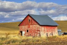 Barns, Silos & Sheds / by Penny Wofford Lambert (Miss Penny Whistle Creations)