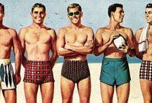 50s beach fashion