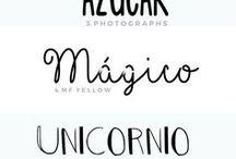 Tipografías bonitas