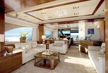 Interior Design for Yacht / Interior design di yacht  e megayacht