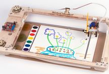 Learning with robots / Learning through robots in a playful way for everyone, could be programming, engineering or even drawing.
