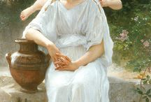 TERRA ANGELS PLANET BY WILLIAM-ADOLPHE BOUGUEREAU