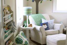 Pokój maluszka - drzewa