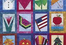 paper quilt calendar