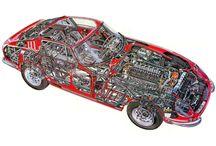 Ferrari cutaway / Auto