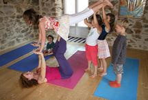 Kids yoga / Learn Unconditional Love in the early age.