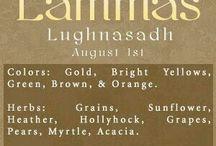 6. Lammas. Lughnasadh. August