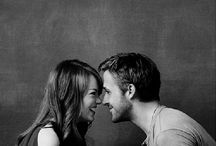 Emma Stone And Ryan Gosling / Emma Stone And Ryan Gosling: The Perfect Non-Couple.  / by Fay Black