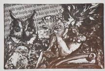 Állatok - Animals / Állatos rézkarcaim - My etchings of animals
