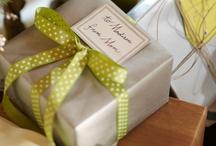Gift wrap  / by Josephine McClain