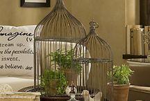 Bird cage decor / by Claudia Trautwein