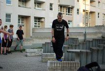 Trénink Parkour Praha na Černém Mostě