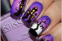 unghie halloween