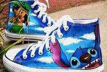 Converse painted