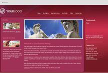 Artist website design