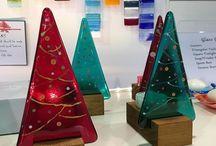 glassfusing christmas
