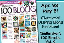 Quiltmaker's 100 Blocks Volume 9 / Quiltmaker's 100 Blocks vol.9! / by Quiltmaker Magazine