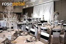 Silver and black wedding