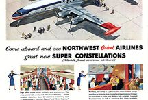 anuncios vintage Airlines / by Victor Del Aguila Castillo