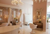 Glam Salon Bevery Hills / A new commercial design in Beverly Hills for the GLAM salon.