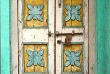 GATES, DOORS, WINDOWS AND BALCONIES AROUND THE WORLD
