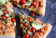 Recipes: Pizza Recipes / Everyone loves pizza! Don't worry with ordering in with this collection of favorite pizza recipes you are sure to love! / by addapinch | Robyn Stone