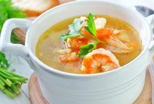 Soupe de curry à la noix de coco