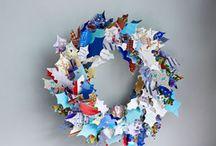 Wreath Ideas for DIY / wreaths, door wreaths, wall decor, door decor