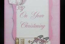 Cards, Christening