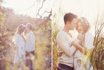H & B / Ideas for the engagement session and photo styling.