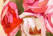 akryl rozsa