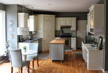 Decorando con gris / Diferentes ideas para remodelar la casa y cocina bajo presupuesto.
