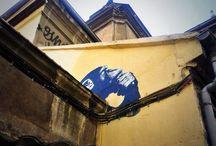 Mono / Mural detrás de San José. Madrid, Gran Vía